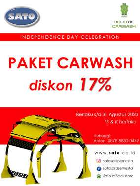 Robotic Carwash Packet and price