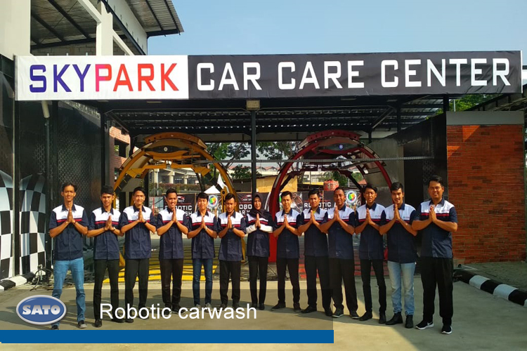 Car Care Center >> Skypark Car Care Center Sato Peralatan Otomotif