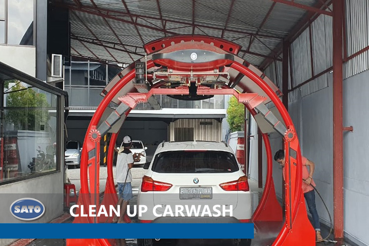 Clean Up Carwash